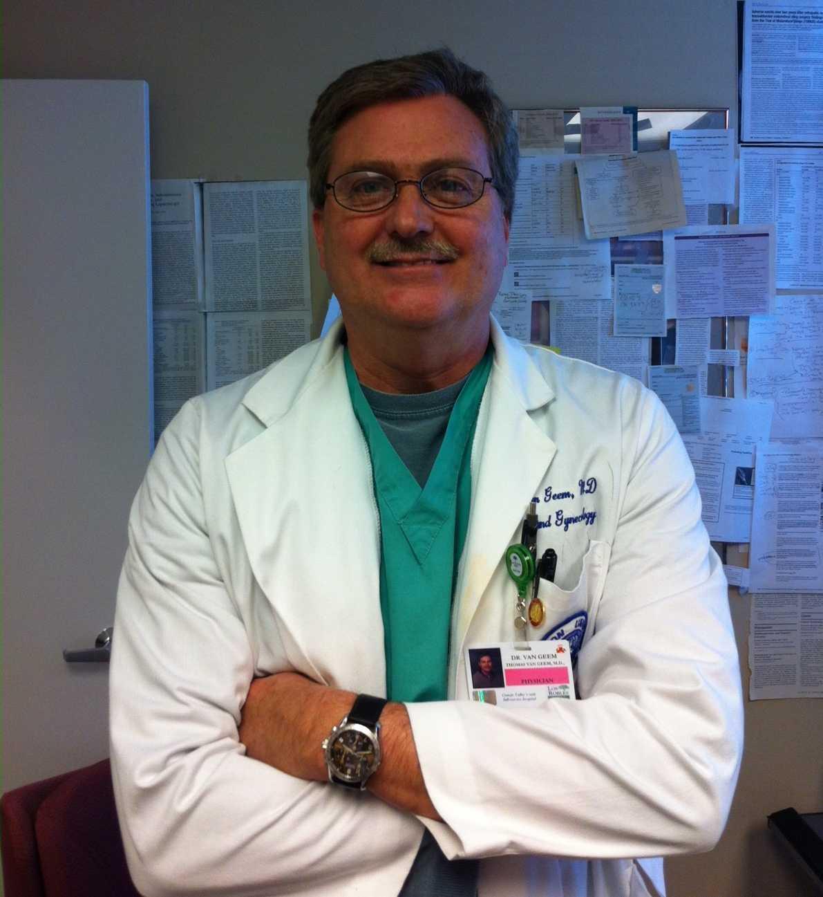 Dr  Thomas Van Geem, MD FACOG - Fellows, American College of